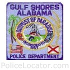 Gulf Shores Police Department Patch