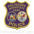 Palisades Park Police Department Patch