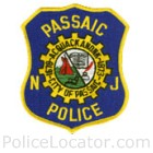 Passaic Police Department Patch