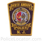 Perth Amboy Police Department Patch