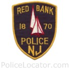 Red Bank Police Department Patch