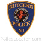 Rutgers University Police Department Patch