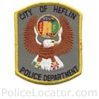 Heflin Police Department Patch