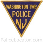 Washington Township Police Department Patch