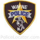 Wayne Police Department Patch