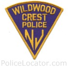Wildwood Crest Police Department Patch
