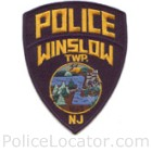 Winslow Township Police Department Patch