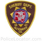Alexander County Sheriff's Office Patch