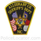 Alleghany County Sheriff's Office Patch