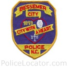 Bessemer City Police Department Patch