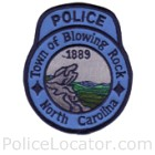 Blowing Rock Police Department Patch