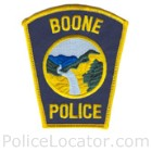 Boone Police Department Patch