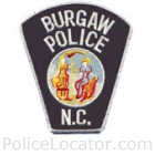Burgaw Police Department Patch