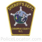 Cabarrus County Sheriff's Office Patch