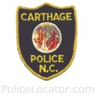 Carthage Police Department Patch