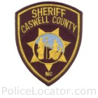 Caswell County Sheriff's Office Patch