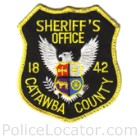 Catawba County Sheriff's Office Patch
