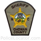 Chowan County Sheriff's Office Patch