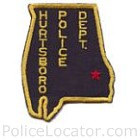 Hurtsboro Police Department Patch