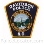Davidson Police Department Patch