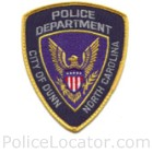 Dunn Police Department Patch