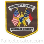 Durham County Sheriff's Office Patch
