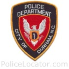 Durham Police Department Patch