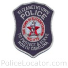 Elizabethtown Police Department Patch