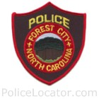 Forest City Police Department Patch