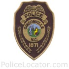 Gibsonville Police Department Patch
