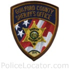 Guilford County Sheriff's Office Patch
