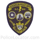 Henderson Police Department Patch