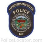 Hendersonville Police Department Patch