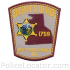 Hertford County Sheriff's Office Patch