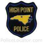 High Point Police Department Patch