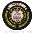 Hope Mills Police Department Patch