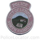 Lenoir Police Department Patch