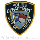 Locust Police Department Patch
