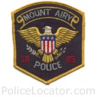 Mount Airy Police Department Patch
