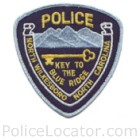 North Wilkesboro Police Department Patch