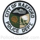Raeford Police Department Patch