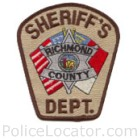 Richmond County Sheriff's Office Patch