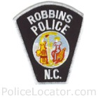 Robbins Police Department Patch