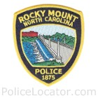 Rocky Mount Police Department Patch