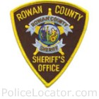 Rowan County Sheriff's Office Patch
