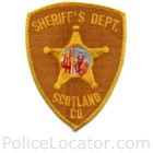 Scotland County Sheriff's Office Patch