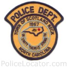 Scotland Neck Police Department Patch