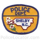 Shelby Police Department Patch