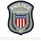 Statesville Police Department Patch