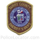 Surry County Sheriff's Office Patch